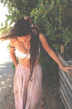 long brown dreads