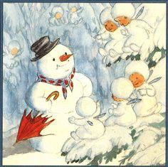 Weihnachten mit Ida Bohatta / Bild 07 | by micky the pixel
