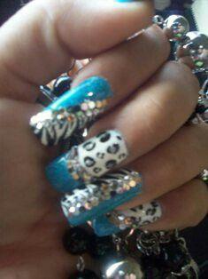 Exotic Nail Art Nail Art Pinterest Exotic Nails And Glamour Nails