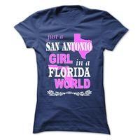 San Antonio Girl in a Florida world