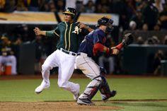Oakland Athletics  Kyle Blanks, Boston Red Sox A.J. Pierzynski