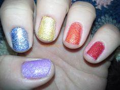 My Nail Polish Is Poppin': Pride!