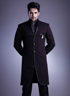 A Designer suit is superb for special occasions. #Designersuits Visit www.manawat.in