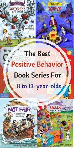 6 Awesome Book Series for 8 to Change your child's behavior with books! The best Positive Behavior Book Series for 4 to Great resources for parents from Ashley Soderlund Ph. via /nthrive/ Good Books, My Books, Positive Behavior, Positive Discipline, Kids Behavior, Behavior Plans, Behavior Charts, 7 Year Olds, Kids Reading