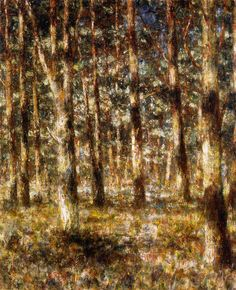 Christian Rohlfs, A Forest Web, 1895