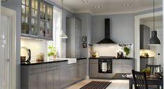 Une large cuisine Ikea en L - Les nouvelles cuisines Ikea 2014 en 40 photos - CôtéMaison.fr
