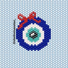 Beaded Earrings Patterns, Bracelet Patterns, Kandi Patterns, Beading Patterns, Brick Stitch Tutorial, Native American Beading, Chicago Cubs Logo, Knit Crochet, Projects To Try