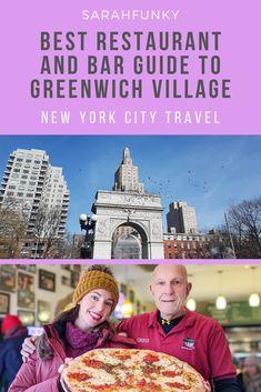 New York Travel Guide, New York City Travel, Travel Guides, Travel Tips, Travel Usa, Canada Travel, Restaurant Guide, Long Island City, Greenwich Village