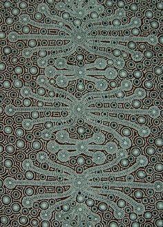 Yalka (Bush Onion Dreaming) - Peter Mbitjana Palmer