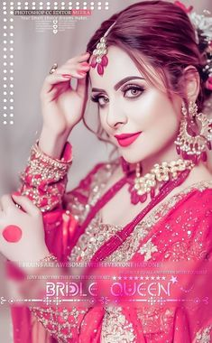 Beautiful Indian Brides, Beautiful Girl Image, Beautiful Bride, Beautiful Eyes, Stylish Girls Photos, Stylish Girl Pic, Cute Girl Poses, Cute Girl Photo, Indian Aesthetic
