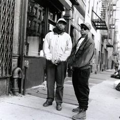 Gang Starr, 1988. These guys are true pioneers in hip hop. DJ Premier is still a prolific producer. RIP Guru.