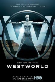Westworld - Season 1 Described as a dark odyssey about the dawn of artificial consciousness and the future of sin, the series is set in a futuristic theme park called Westworld where guests interact with automatons in scenarios that are developed, overseen and scripted by the park's creative, security and quality assurance departments.