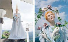 Contact Tilda Swinton Las Pozas, Mexico W Magazine May 2013