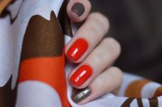 """Odri"" №011 and China Glaze ""Ingrid"":"