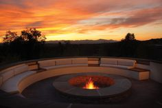 What better place to spend a cool summer night than under the grand desert skies at Four Seasons Resort Rancho Encantado Santa Fe? The outdoor fire pit awaits you at our newest resort.