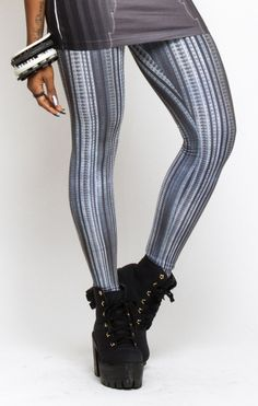 GIGERL THIGHSCRAPER LEGGINGS, love the shoes
