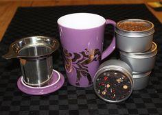 Davids tea and mug
