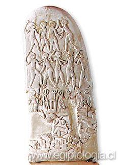 >> Detalle de pintura mural / Tumba 100 / Hieracómpolis / Nagada II