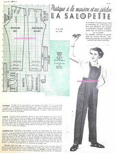 GRATUIT! 40 Patrons Couture Vintage1947! FREE Sewing patterns
