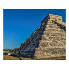 Chichen Itza at Spring Equinox Poster