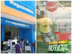 # Noticiário de Hoje #: CRUZ DAS ALMAS: Magazineluiza é assaltada