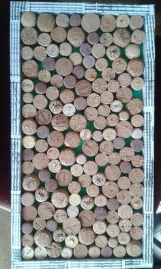 A home made cork board