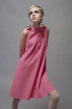 1966: Twiggy knows: When it comes to earrings, the bigger, the better. There's always earlobe reconstructive surgery.