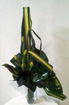 bouquet triangulaire asymetrique