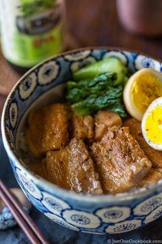 Pressure Cooker Pork Belly (Kakuni)   Easy Japanese Recipes at JustOneCookbook.com