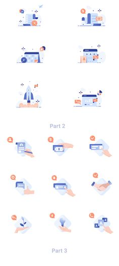 Business illustration pack — Illustrations on Web Design, Flat Design Icons, App Ui Design, Icon Design, Ios Icon, Abstract Logo, Ui Design Inspiration, Business Icon, Design Reference