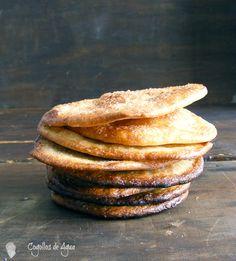 Si me dicen aceite y harina vienen a mi cabeza dos recetas que además están íntimamente unidas a mi infancia, la primera de ellas es la de...