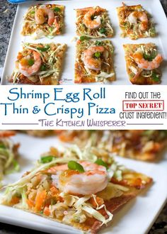 images about Pizza on Pinterest | Prosciutto pizza, Shrimp egg rolls ...