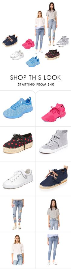 """""""Fashion Sneakers For Women..**"""" by yagna ❤ liked on Polyvore featuring Athletic Propulsion Labs, Y-3, Alice + Olivia, Tretorn, Ash, See by Chloé, OneTeaspoon, The Fifth Label, Xirena and rag & bone/JEAN"""