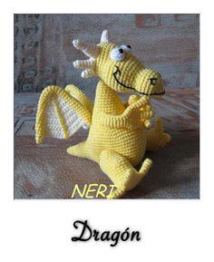 patron gratis amigurumi dragon