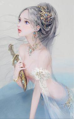A hub of fabulous Chinese novels, where you can read, translate and create. Fantasy Romance Novels, Writing Fantasy, Beautiful Fantasy Art, Beautiful Anime Girl, Anime Art Girl, Manga Art, China Art, Fun Comics, Fantasy Girl