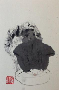 Shozo Ozaki Paints Cats <3 - Imgur