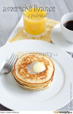 Czech Recipes, Crepes, Sweet Recipes, Ham, Pancakes, French Toast, Picnic, Food And Drink, Baking