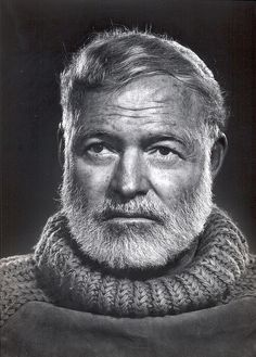 Ernest Hemmingway I have read some but want to read all!  I love him!