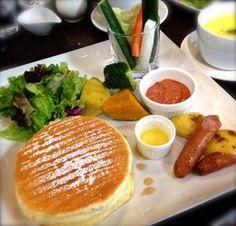 Pancake breakfast at Hokkaido