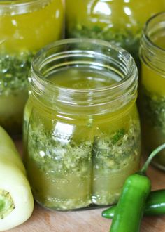 Mojo Marinade with jalapenos, garlic, orange, and lime is the marinade recipe you'll need all summer long! get the recipe at barefeetinthekitchen.com