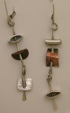 these would be really great as a bracelet too   .....earrings by ramsey hall