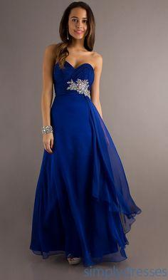 Dresses, Formal, Prom Dresses, Evening Wear: Temptation Floor Length Strapless…