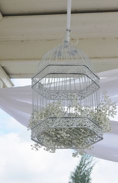 Cool decorations. Fill them with fake flowers and accents.