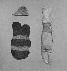Doll, silk, Bahnasa, Taiwan (made)  3rd-5th century