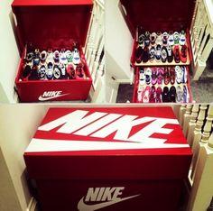 Nike cria um útil e prático armário para seus tênis