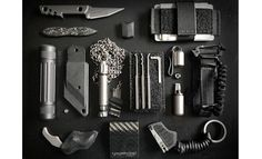 A fine EDC. I couldn't find all the specs on these items. Do any look familiar to you?
