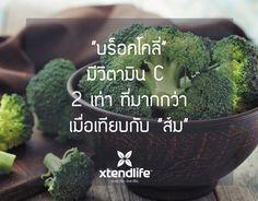 ประโยชน์ของบร๊อคโคลี่ #วิตามินรวมแร่ธาตุ #โททัลบาลานซ์พลัส #เอ็กซ์เท็นไลฟ์ #Broccoli #xtendlife