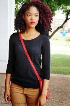 Dominique Jazell Natural Hair Twist Out, Natural Hair Styles, Twist Outs, Black Queen, Crochet Braids, Lifestyle Blog, Queens, Handsome, Inspiration
