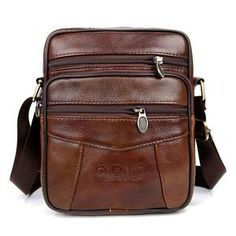 2532d0f0e2 QiBoLu Cow Genuine Leather Messenger Bags Men Travel Business Crossbody  Shoulder Bag for Man Sacoche Homme