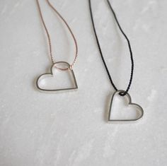 A personal favourite from my Etsy shop https://www.etsy.com/listing/477119242/short-shapes-necklace-sterling-silver-by